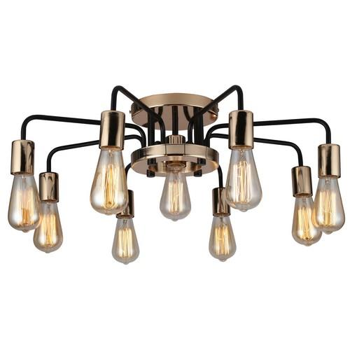 Светильник ARTE Lamp ARTELAMP-A6001PL-9BK