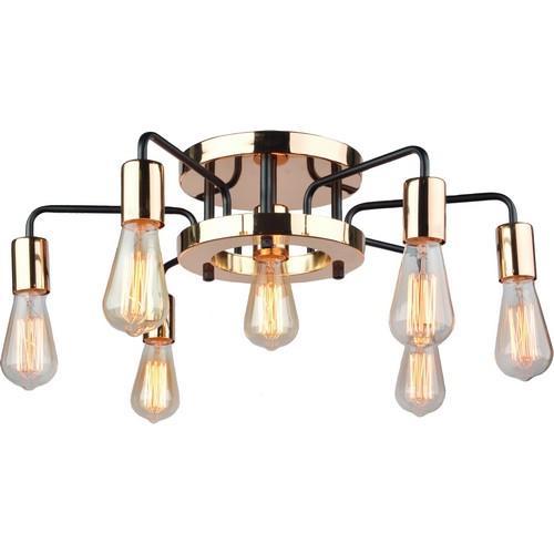 Светильник ARTE Lamp ARTELAMP-A6001PL-7BK