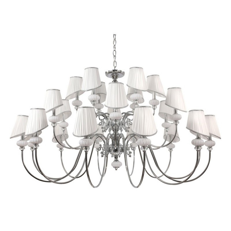Светильник Crystal Lux CRYSTAL LUX-ALMA WHITE SP-PL12+6+6