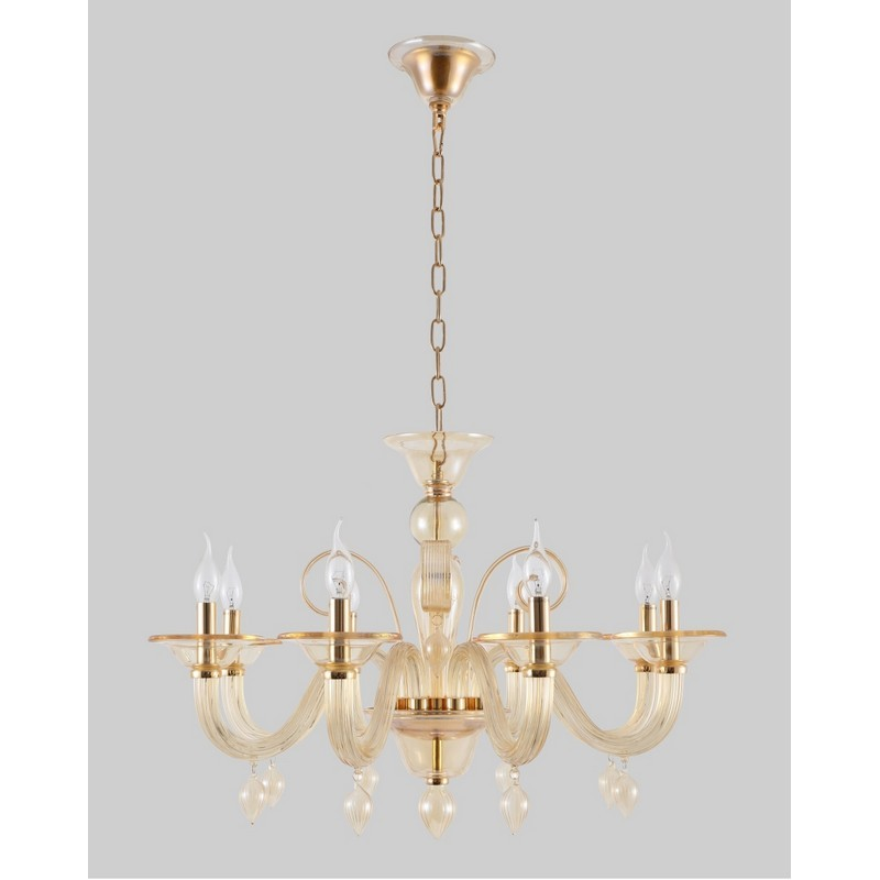 Светильник Crystal Lux CRYSTAL LUX-CAETANO SP-PL8 AMBER