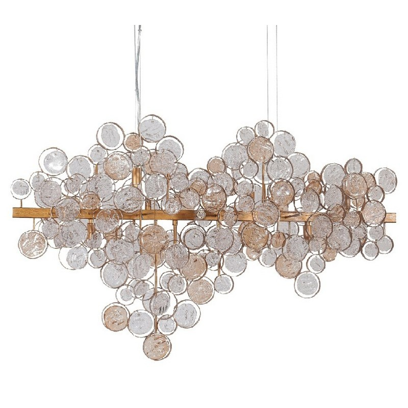 Светильник Crystal Lux CRYSTAL LUX-DESEO SP12 L1000 GOLD