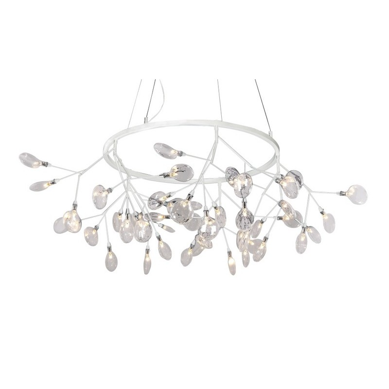 Светильник Crystal Lux CRYSTAL LUX-EVITA SP45 D WHITE/TRANSPARENT