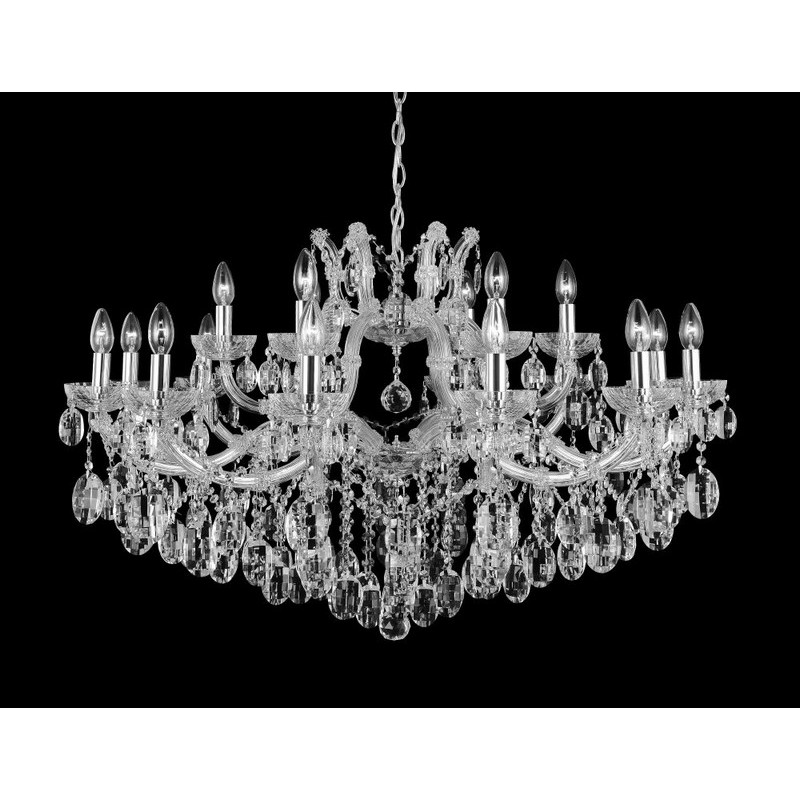 Светильник Crystal Lux CRYSTAL LUX-HOLLYWOOD SP12+6 CHROME