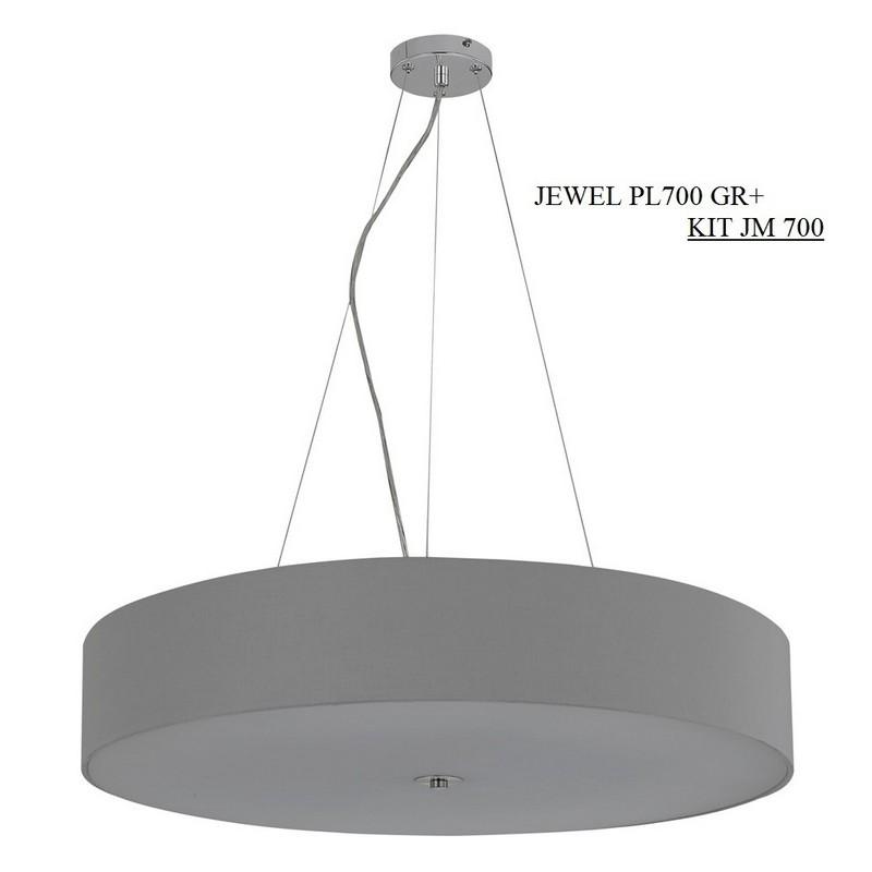 Светильник Crystal Lux CRYSTAL LUX-JEWEL PL700 GR