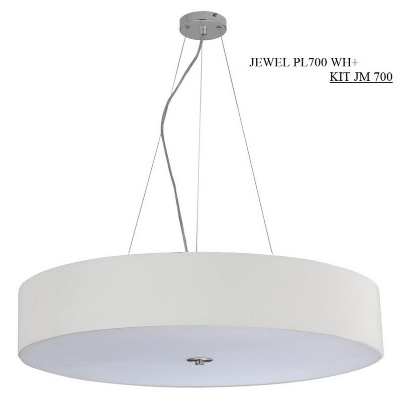 Светильник Crystal Lux CRYSTAL LUX-JEWEL PL700 WH