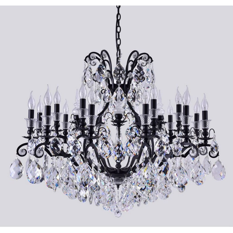 Светильник Crystal Lux CRYSTAL LUX-MAGNIFICO SP19 BLACK/TRANSPARENT