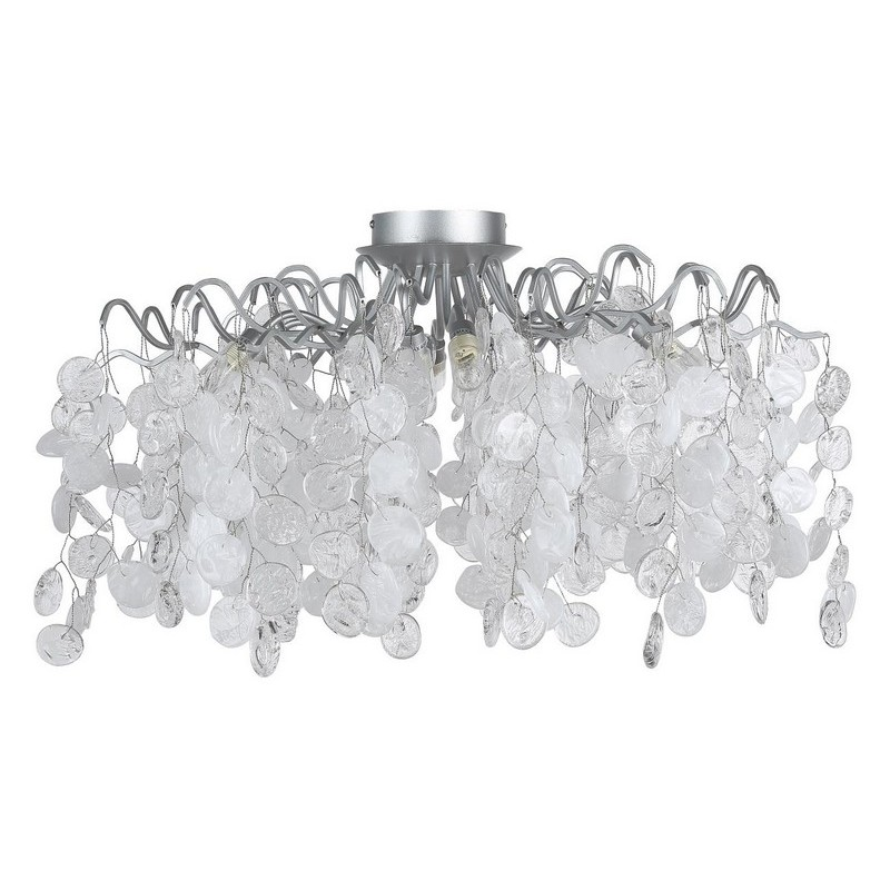 Светильник Crystal Lux CRYSTAL LUX-TENERIFE PL8 SILVER