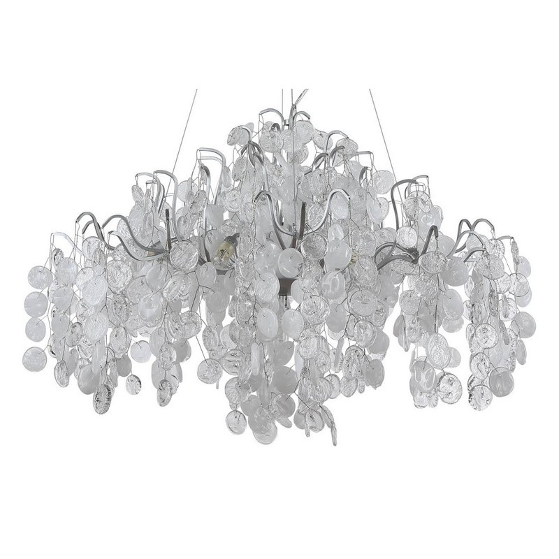 Светильник Crystal Lux CRYSTAL LUX-TENERIFE SP9 SILVER