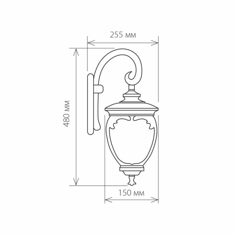 Светильник Elektrostandard Elektrostandard-GLYF-8024D