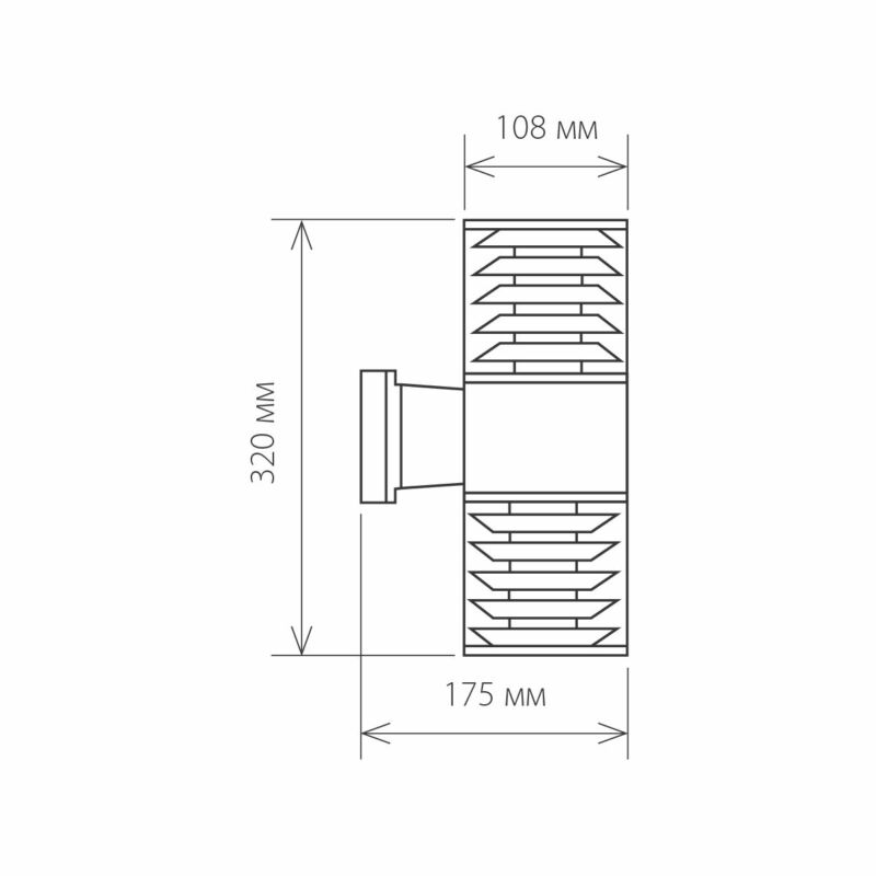 Светильник Elektrostandard Elektrostandard-1407 TECHNO Black
