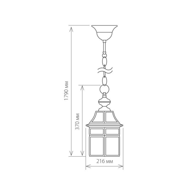 Светильник Elektrostandard Elektrostandard-GL 1031H