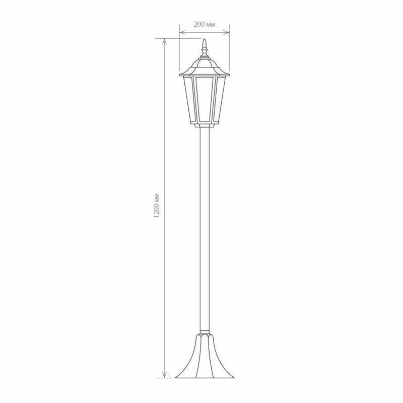 Светильник Elektrostandard Elektrostandard-GL 1014F BG