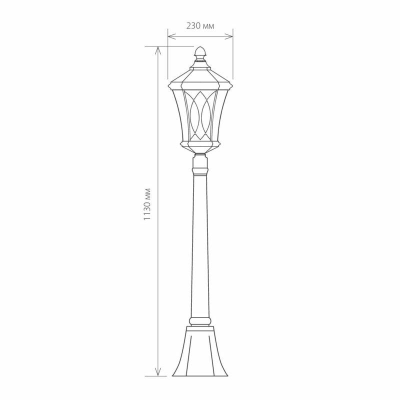 Светильник Elektrostandard Elektrostandard-GLXT-1450F