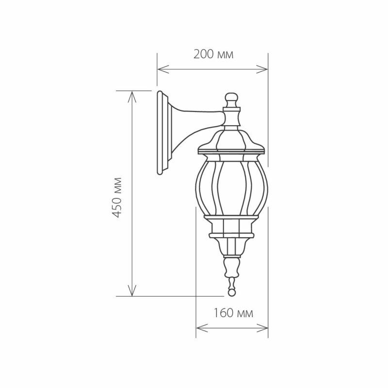 Светильник Elektrostandard Elektrostandard-GL 1001D Black