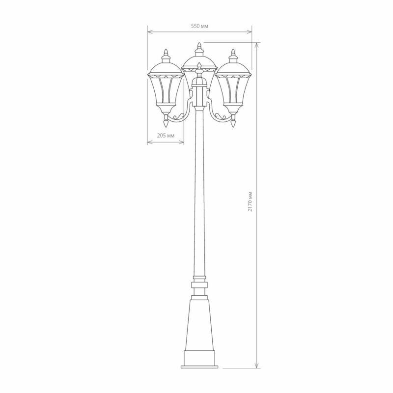 Светильник Elektrostandard Elektrostandard-Capella F/3