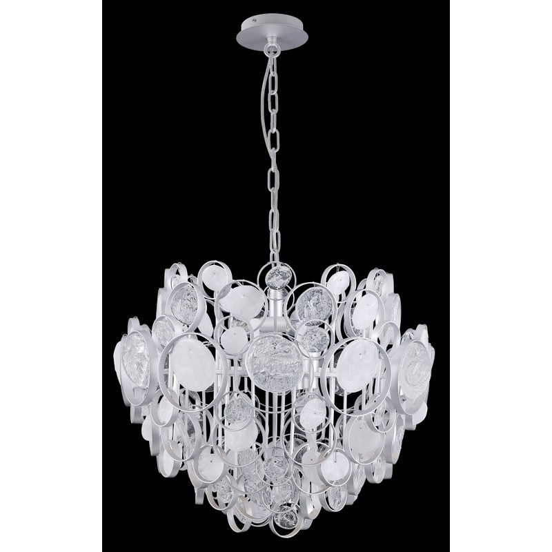 Светильник Crystal Lux CRYSTAL LUX-DESEO SP6 D460 SILVER