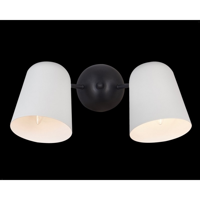 Светильник Crystal Lux CRYSTAL LUX-ENRIQUE AP2 BLACK/WHITE