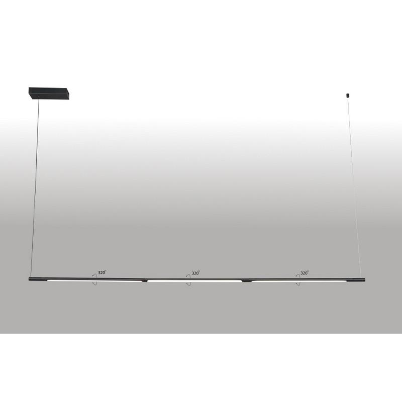 Светильник CRYSTAL LUX LARGO SP33W L1770 BLACK