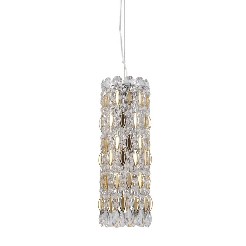 Светильник Crystal Lux CRYSTAL LUX-LIRICA SP3 CHROME/GOLD-TRANSPARENT