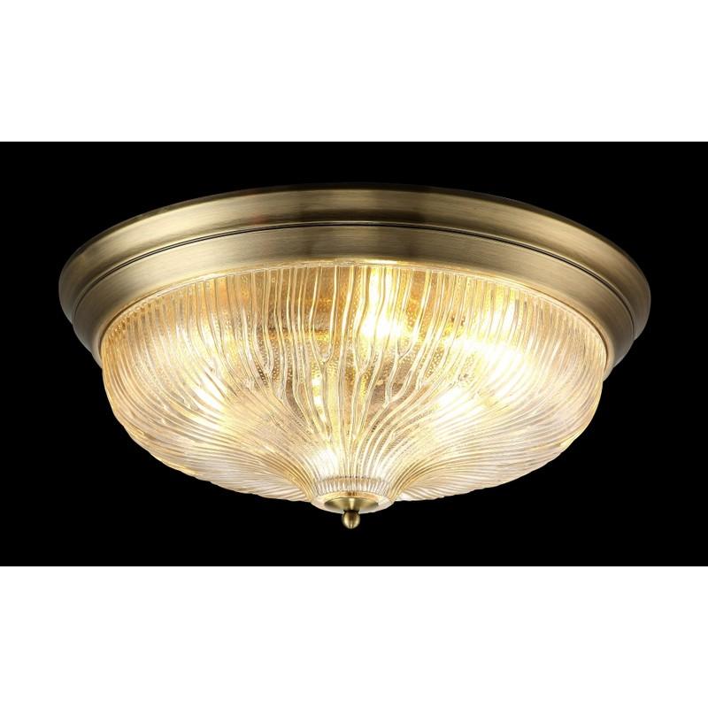 Светильник CRYSTAL LUX LLUVIA PL6 BRONZE D550