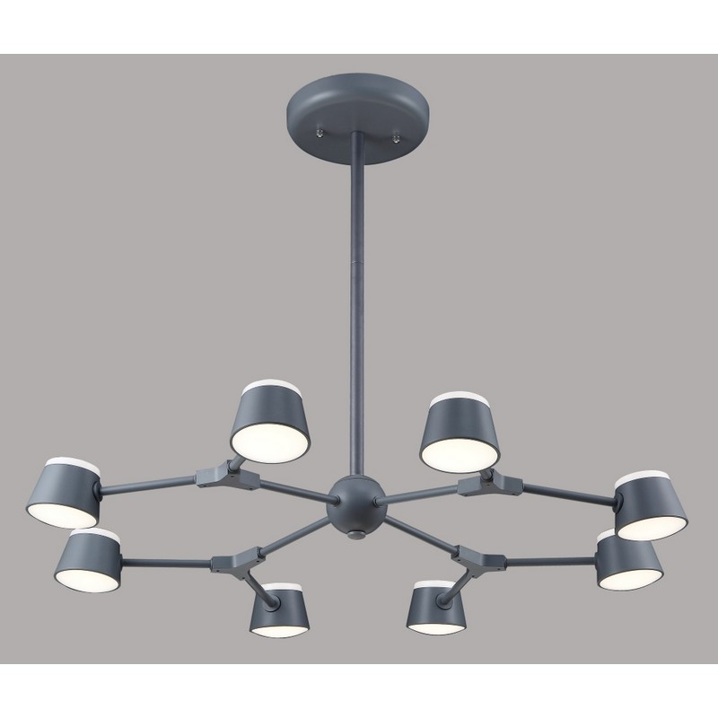 Светильник CRYSTAL LUX MADRID SP8 GRAY