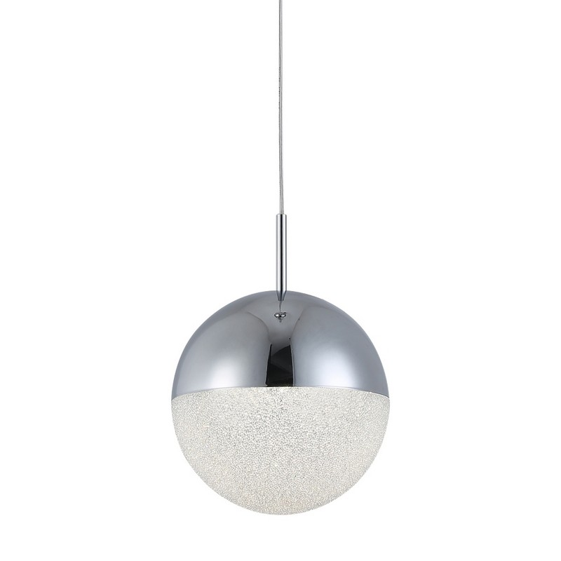 Светильник Crystal Lux CRYSTAL LUX-PIO SP1 D150 CHROME