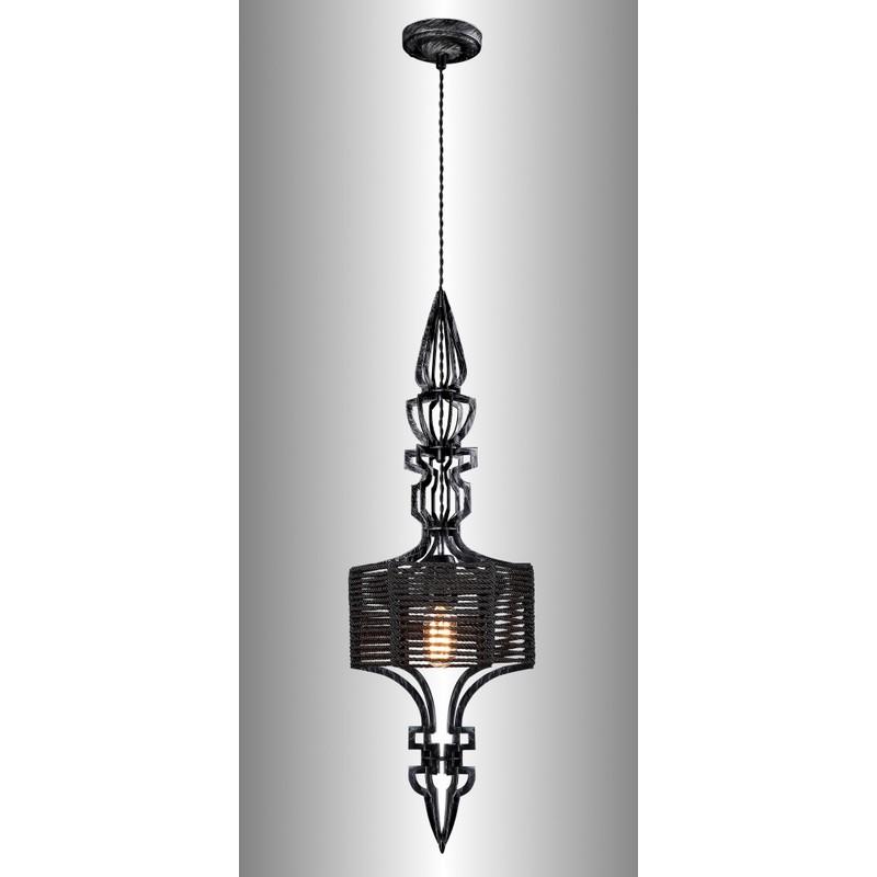 Светильник Crystal Lux CRYSTAL LUX-PRIMA SP1 A BLACK-SILVER/BLACK
