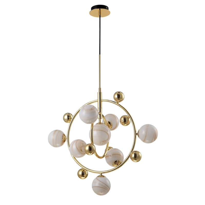 Светильник CRYSTAL LUX SALVADORE SP8V GOLD