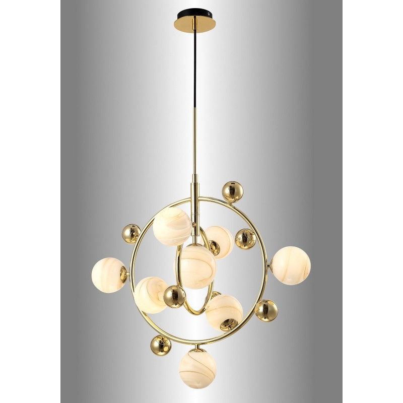 Светильник Crystal Lux CRYSTAL LUX-SALVADORE SP8V GOLD