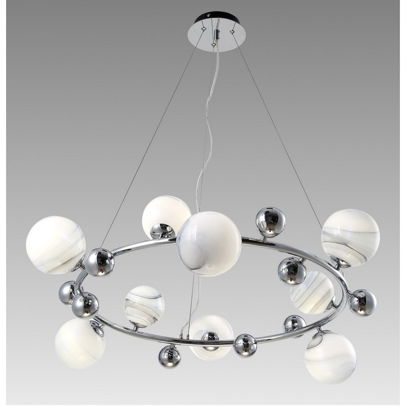 Светильник Crystal Lux CRYSTAL LUX-SALVADORE SP9H CHROME
