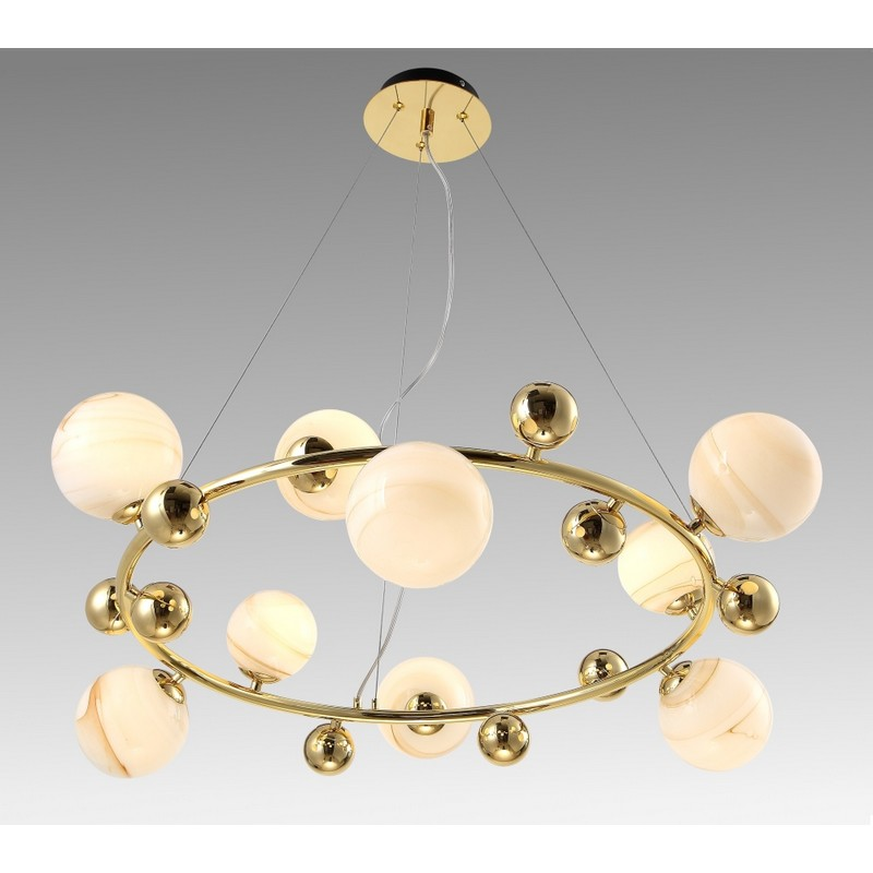 Светильник Crystal Lux CRYSTAL LUX-SALVADORE SP9H GOLD