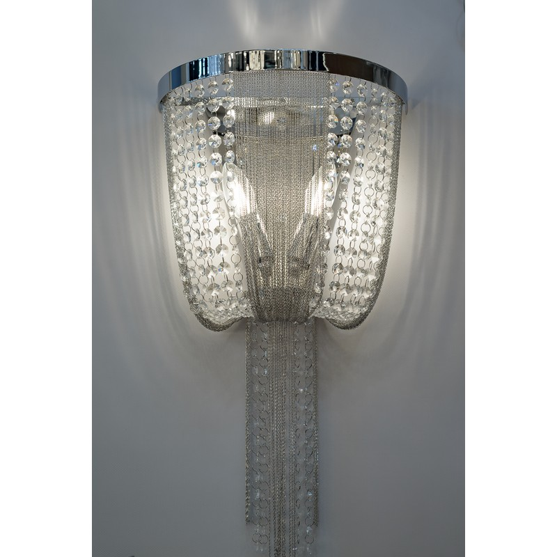 Светильник Crystal Lux CRYSTAL LUX-TEATRO AP2 CHROME
