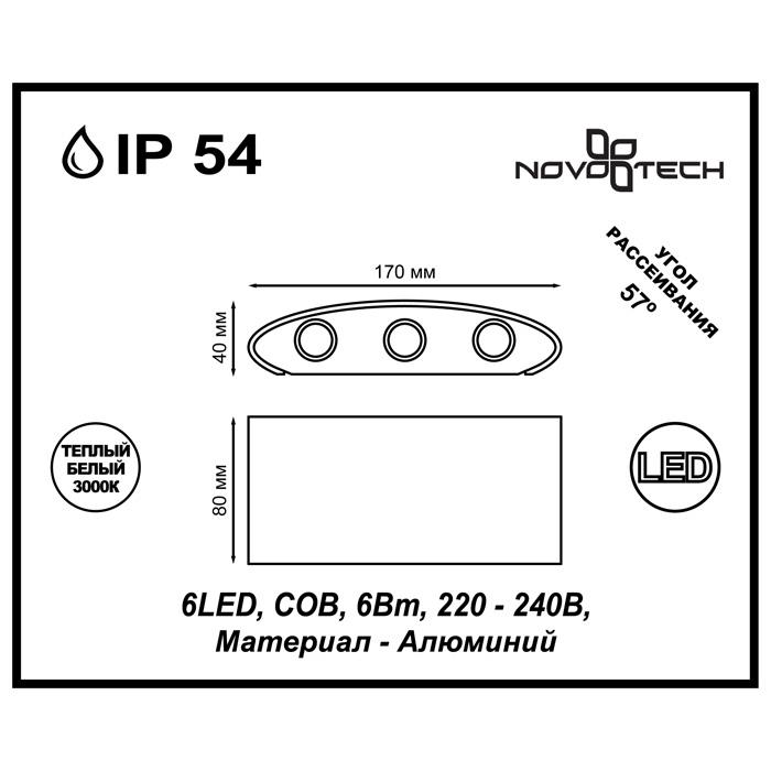 Светильник Novotech Novotech-357680