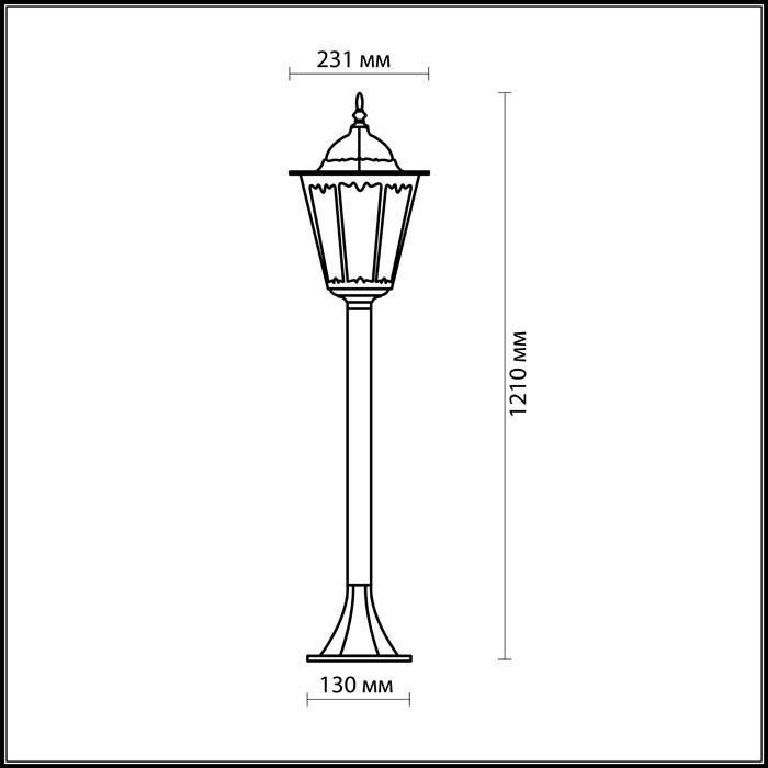 Светильник Odeon Light Odeon Light-2322/1F