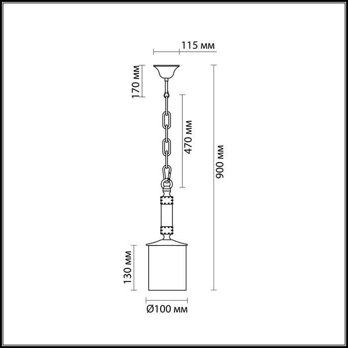 Светильник Odeon Light Odeon Light-2767/1