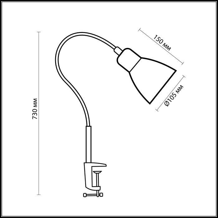 Светильник Odeon Light Odeon Light-3371/1T
