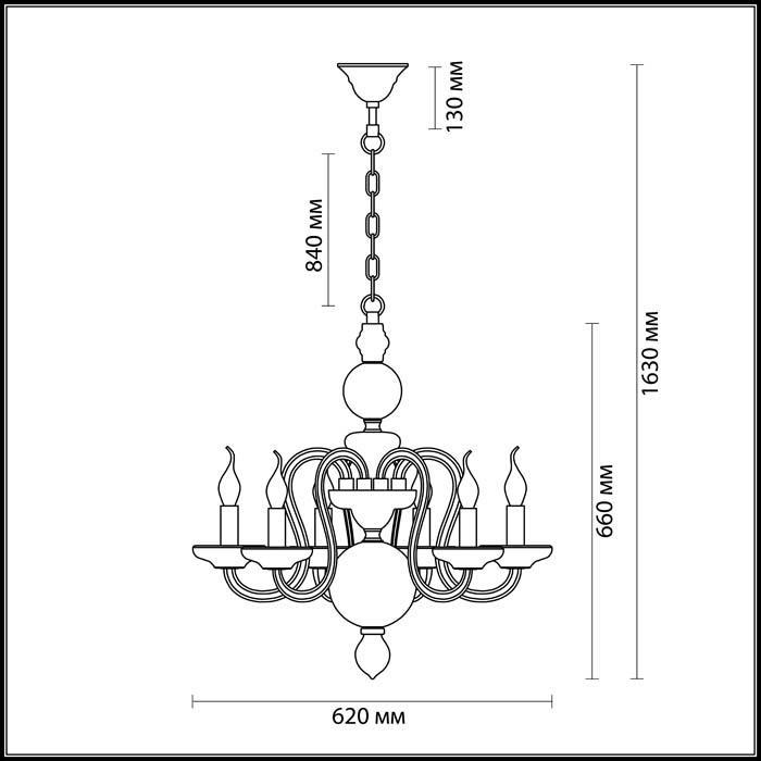 Светильник Odeon Light Odeon Light-3933/6