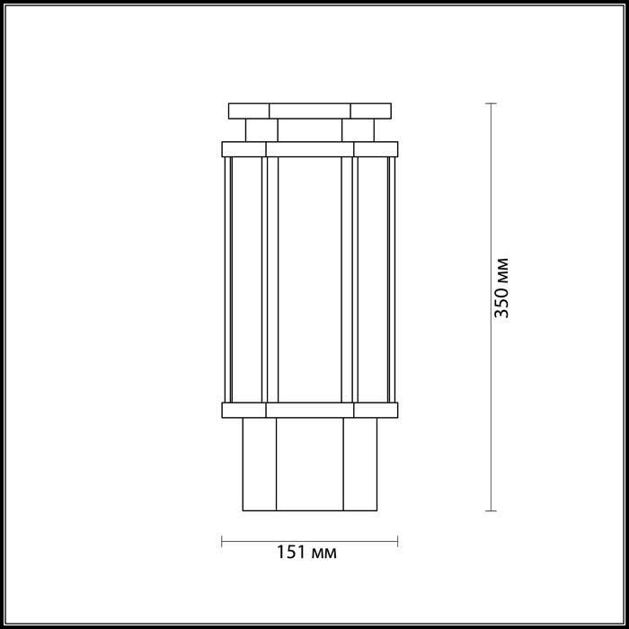 Светильник Odeon Light Odeon Light-4048/1B