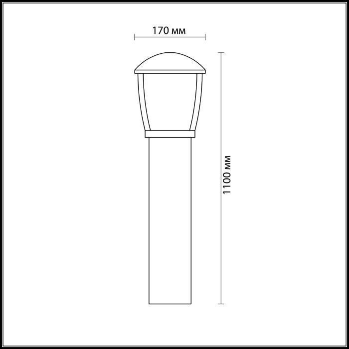 Светильник Odeon Light Odeon Light-4051/1F
