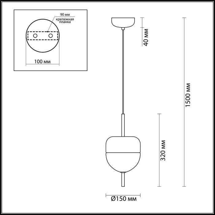 Светильник Odeon Light Odeon Light-4621/12L